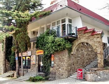 Отдых в Крыму. Гостиница 'Амиго' в Алуште.