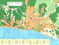 Карта Алушты. Увеличить и посмотреть карту Алушты