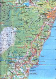 Увеличить и посмотреть карту Партенит-Карасан-Утес-Алушта